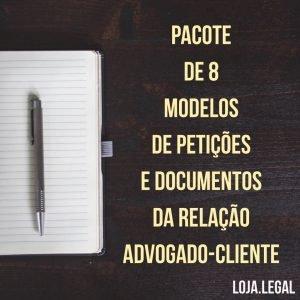 Pacote relação advogado-cliente