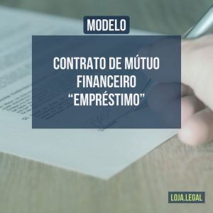 Contrato de Mútuo Financeiro