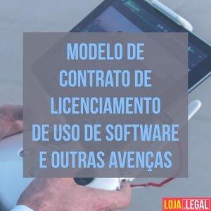 contrato de licenciamento de uso de software