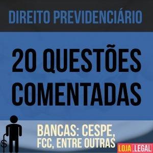 Direito Previdenciário 20 questões