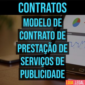 Modelo de contrato de prestação de serviços de publicidade